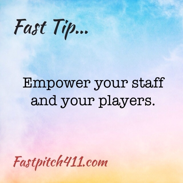 FastTip: empower your staff and your players