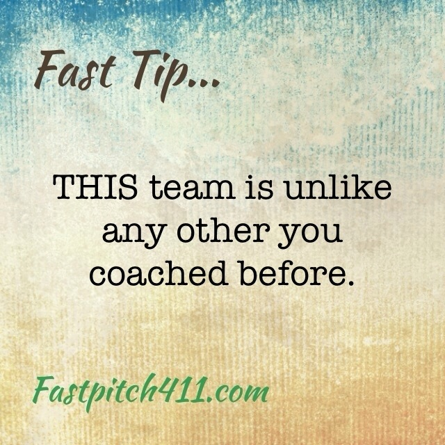 FastTips: this team is unlike any other you coached before